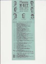WRIT-Milwaukee, WI-Original Top 40 Radio Station Music Survey- May 23, 1965