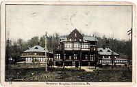 1910 JOHNSTOWN Pennsylvania Pa Postcard MEMORIAL HOSPITAL