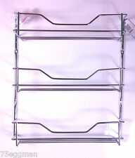 3 TIER CHROME SPICE RACK HOLDER TO SUIT MASTERFOOD SPICE BOTTLES - 18 BOTTLES