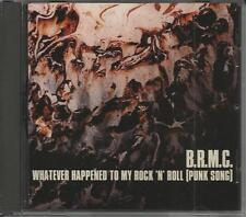 BLACK REBEL MOTORCYCLE CLUB Whatever Happened to my  DJ PROMO CD Single B.R.M.C.