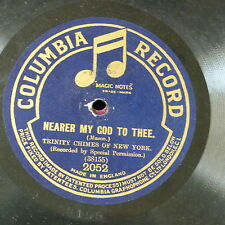 78rpm TRINITY CHIMES OF NEW YORK nearer my god to thee / lead kindly knight