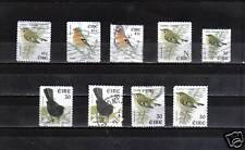 B5426 - IRLANDA  - UCCELLI - LOTTO  DIFFERENTI USATI