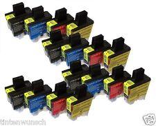 16 Cartouches D'Encre Compatible avec Brother MFC210C DCP120C MFC3340CN MFC5440C