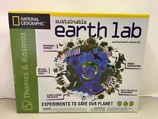 New National Geographic Sustainable Earth Lab Experiments To Save Our Planet