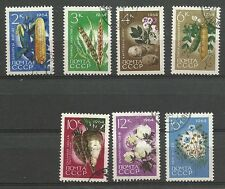 Russia 1964, SC # 2913-19. Agricultural Crops. Complete set. CTO. VF