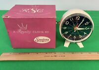 NOS, Vintage Sessions Royalty Alarm Clock- 7Y RA1O glow in the dark