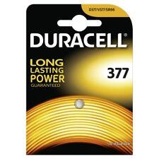 1x Duracell Knopfzelle 377 V377 SR66 SR626SW Uhren Batterie Best before 2021