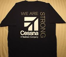 Cessna We Are Strong Adult XXL T Shirt Aircraft People Pride Textron Aviation
