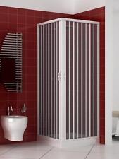Box doccia cabina a soffietto 2 LATI APERTURA ANGOLARE  Varie misure e COLORI