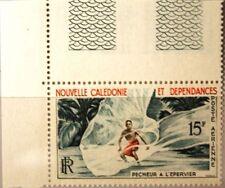 NEW CALEDONIA NEUKALEDONIEN 1962 377 C29 Fisherman Throm Net Fischer Netz MNH