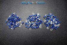 150 PK 14-16 GAUGE AWG VINYL RING CONNECTORS 50 PCS EA TERMINAL CRIMP #6 #8 #10