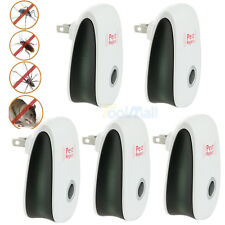 5Ultrasonic Electronic Anti Mosquito Pest Mouse Insect Cockroach Repeller Reject