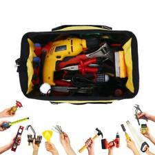 16 inch Tool Bag Hard Bottom Heavy Duty Toolbag With Pocket For Tool Storages