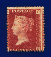 1870 SG43 1d Red Plate 143 G1 OB Misperf Mounted Mint Hinged Cat £80 crts