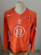 Maglia Olanda Trikot Nederlands 2005 Van Der Vaart match worn shirt Holland