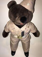BEAR FORCE OF AMERICA Stuffed Plush USN Military Naval Academy BEAR Uniform Tags