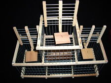 Cage For Birds : Trap Cage with 3 Traps for birds