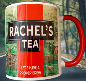 *FREE POSTAGE PERSONALISED YORKSHIRE TEA HAVE A PROPER BREW COFFEE MUG RED CUP