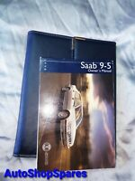 Saab 900 '98 Sedan Owners Manual Booklet/Leather Case