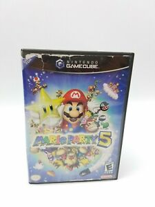 Case Only No Game Mario Party 5 (Nintendo GameCube, 2002) Authentic