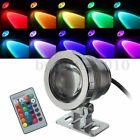 10W 12V RGB LED Projecteur Spot Lampe Luminaire Extérieur Etanche Multicolore NF