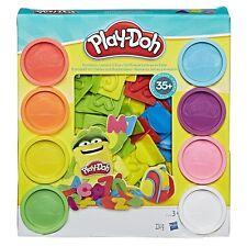Play-doh Chiffres et Lettres 35 accessoires et 8 pots Pate a modeler   Play-doh