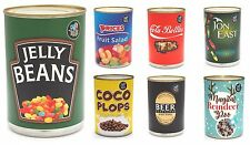 CANDY TREATS - Novelty Spoof Branded Tinned Sweets Jelly Beans Cola Bottles etc