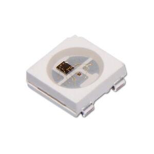Lot de 1/5/10 Diode RGB LED avec Contrôleur Intégré WS2812B Logement 5050