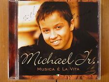 Michael Jr. Junior-Musica e la vita EMI CD 2002/signée!