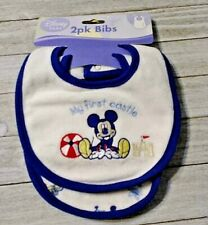 Mickey Mouse 2 pack Baby Bibs