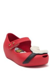 Mini Melissa Ultragirl Disney(R) Twins Waterproof Mary Jane Baby/ Toddler Size 7
