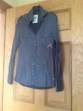 """BURTON"" SMART SKINNY FIT MENS/BOYS GREY LONG SLEEVED SHIRT SIZE SMALL."