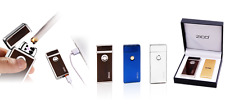 Plasma Lighter USB Rechargeable Cigar Cigarette Tobacco Electric Plasmatic 8z