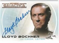 Battlestar Galactica Complete Auto Card A5 Lloyd Bochner as Cmdr. Leiter