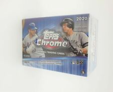 2020 Topps Chrome Baseball Factory Sealed BLASTER BOX Luis Roberts Rookie?