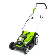 Greenworks Corded Electric 9 Amp 14-Inch Lawn Mower MO09B01