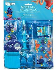 New Disney Finding Dory Birthday Party Supplies 48PC Mega Value Favor Pack