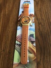 New Ice Age Dawn of the Dinosaurs Digital Watch - Rare - NIP Brown