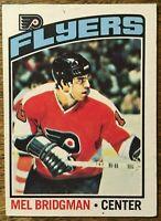 1976-77 O-Pee-Chee - MEL BRIDGMAN #26 Philadelphia Flyers Rookie RC