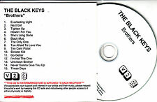 THE BLACK KEYS Brothers 2010 UK 15-trk watermarked & numbered promo test CD