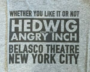 Broadway Mens-Unisex T-Shirt - HEDWIG and the ANGRY INCH - Size M