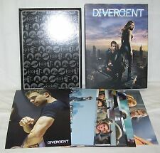 "Divergent Set Of 10 5"" x 7"" Movie Screen Shot Photo Cards in Storage Box *New"