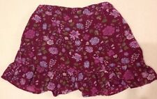 Gymboree Romantic Garden Skirt 2T Girls Corduroy Floral Attached Bloomers