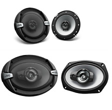 Pair JVC  DR Series 6.5 Inch 2-Way  6x9 3-Way Car Coaxial Speakers 4 ohm 500W