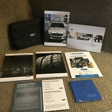 2016 Ford Fusion Owners Manual with maintenance and warranty guide and case