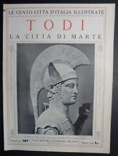 CENTO CITTA' D'ITALIA - N .101 - TODI