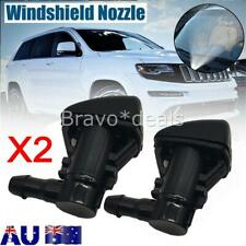 2pcs Windshield Wiper Spray Washer Nozzle Fit For Jeep Grand Cherokee 2005-2018