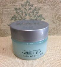 Deja Vu Cosmetics Dead Sea Minerals 8.5oz/250ml Green Tea Luxury Body Scrub New