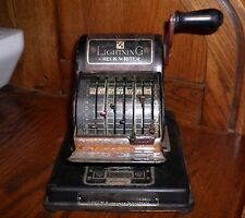 ANTIQUE VINTAGE HEDMAN LIGHTNING CHECK WRITER 1929 EMBOSSING PRINTING MACHINE