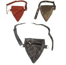 Hip Handmade Leather Waist Pack Bag Party Festival Style Belt Utility Pouch NEW